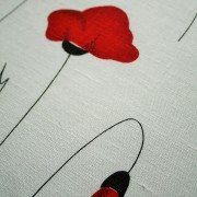 Linen Poppy Patern on white (2)