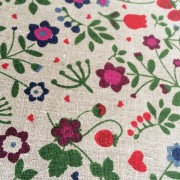 Tea towel in Field Flowers pattern