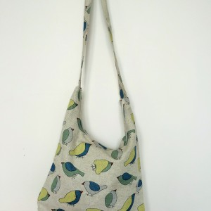 "Linen handmade bag ""Bird"""