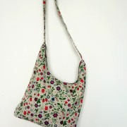 "Linen handmade bag ""Field flowers"""