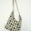 "Linen handmade bag ""Grey Dots"""
