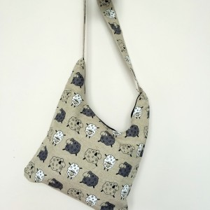 "Linen handmade bag ""Sheep"""