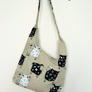 "Linen handmade bag ""Sheeps"""
