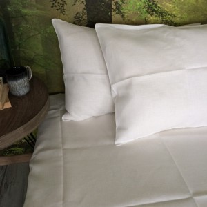 Pure 100% linen sheet. Handmade bed linen.